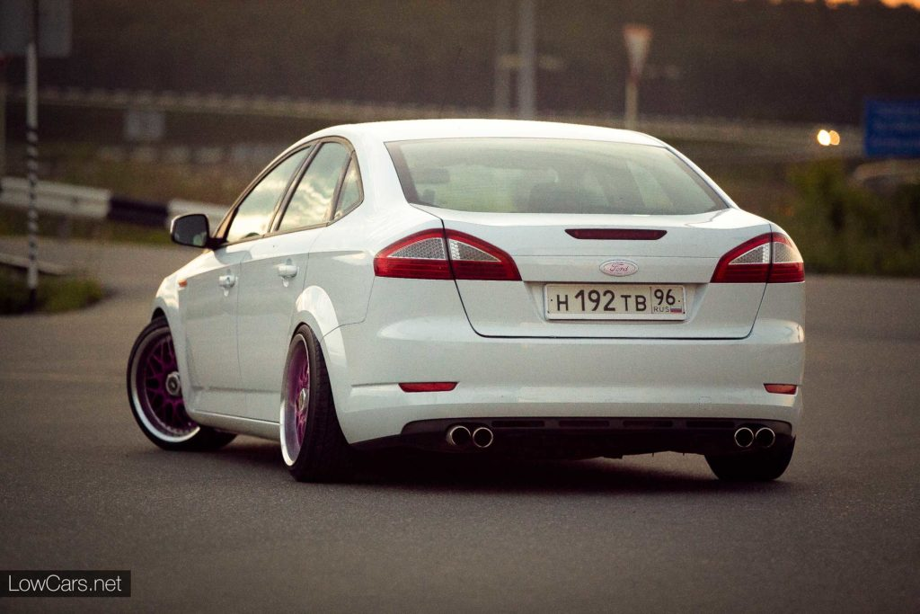 ford mondeo 3 stance