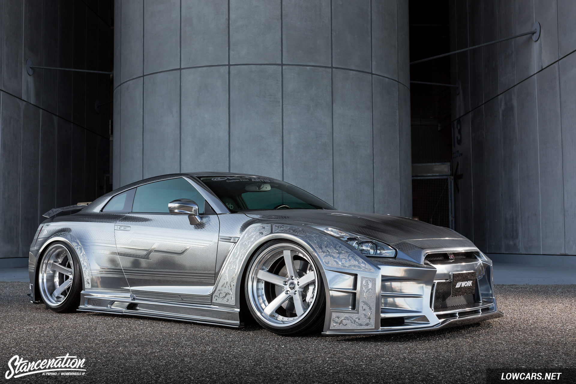 The Kuhl Kid Nissan GTR