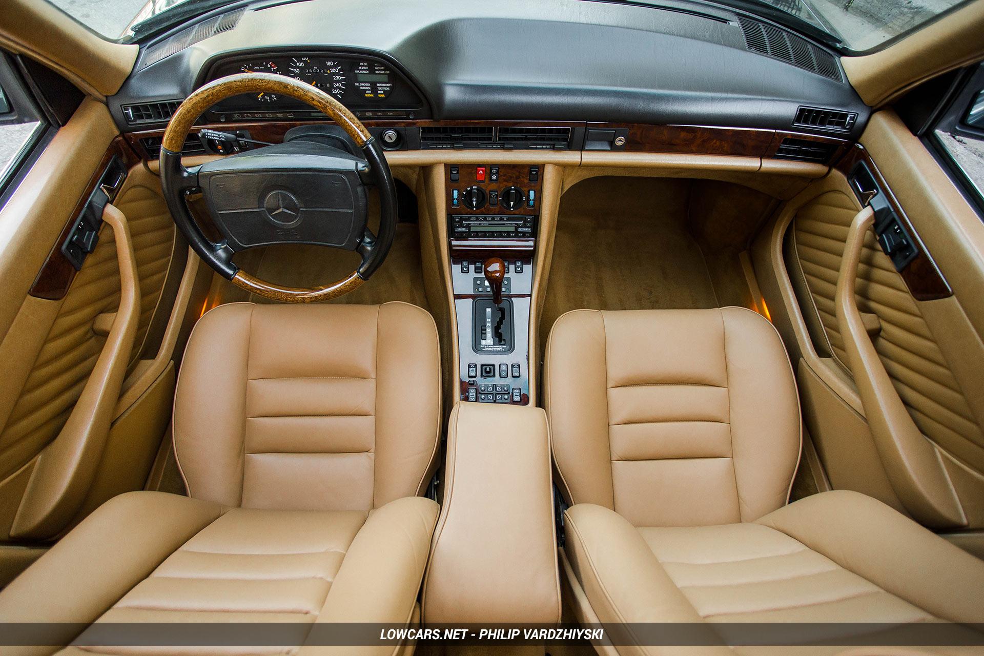 Салон Mercedes-Benz w126