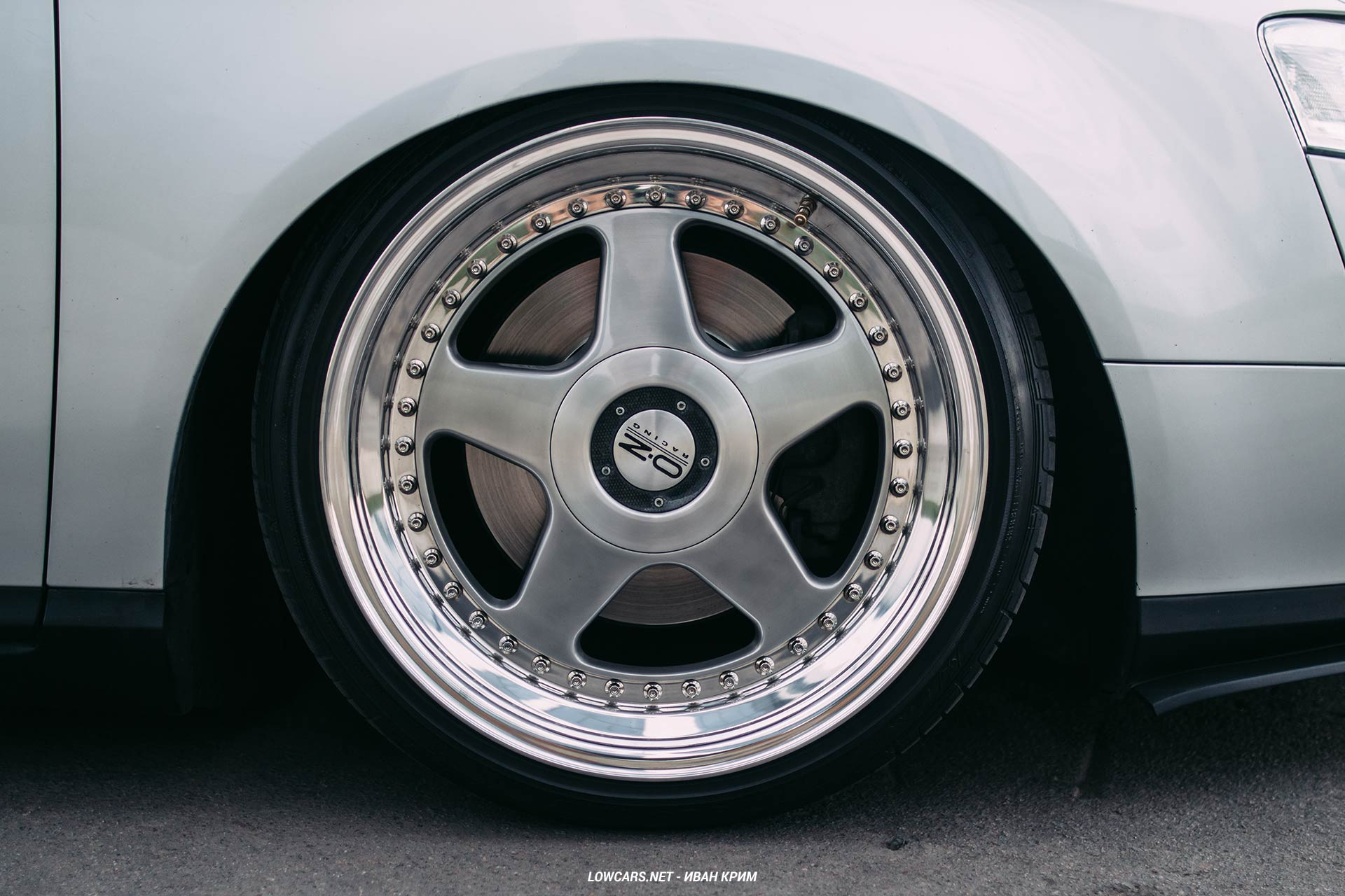 OZ Futura на Volkswagen passat