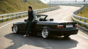 Денис и его BMW E36 Convertible