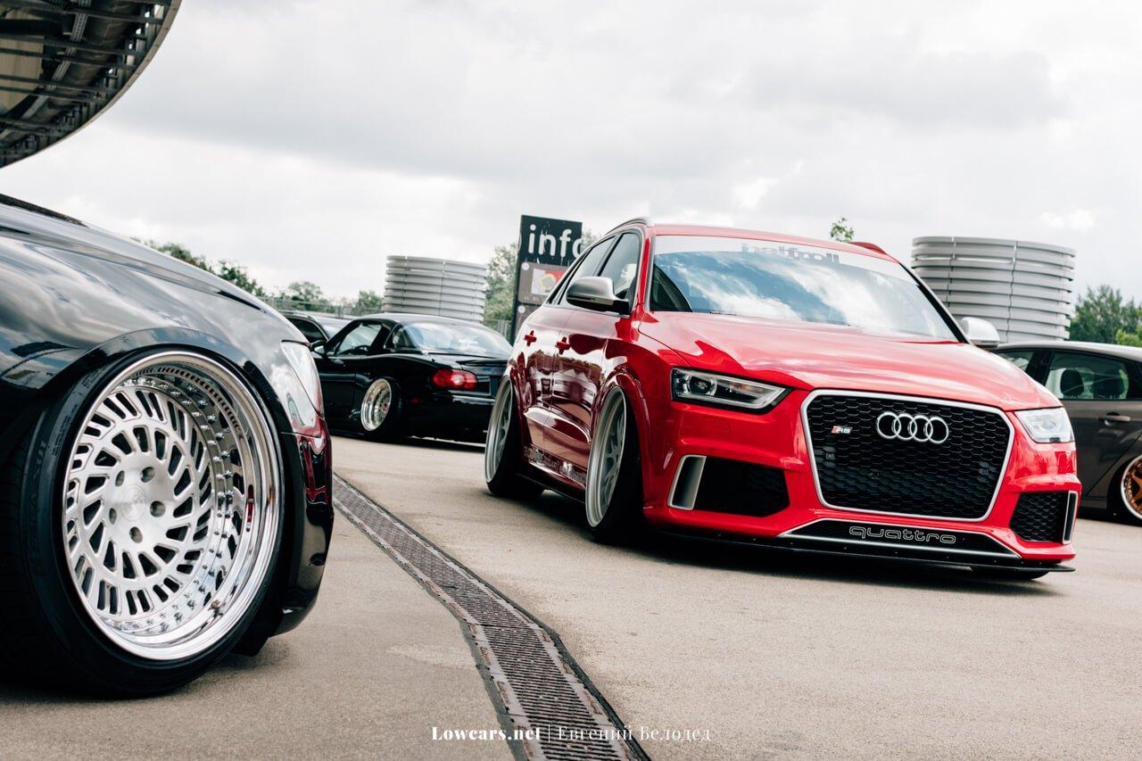 Audi Q3 RS Бори Low Cars Meet